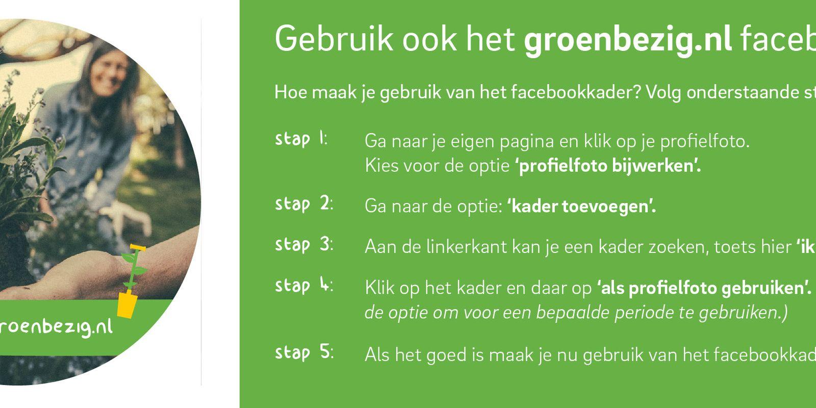 Groenbezig-facebookkader_Stappenplan