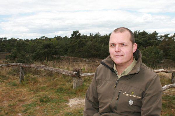 Dennis Kutterik, jachtopziener van Landgoed Vilsteren