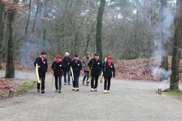 Kerst vieren met vrijwilligers van Landschap Overijssel