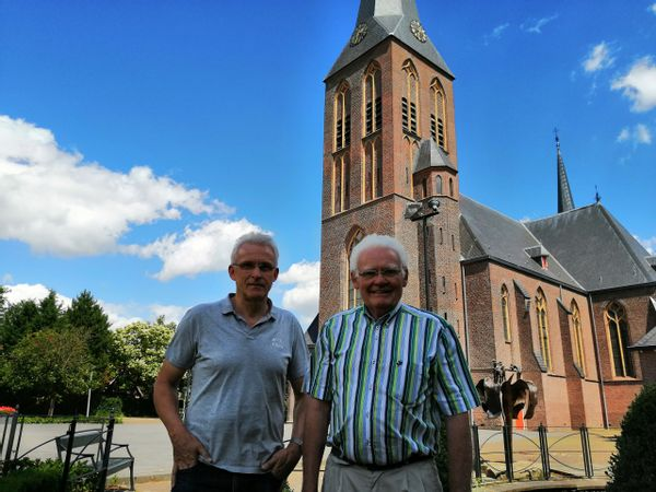 Jos Wolbert en Gerrit Aarninkhof