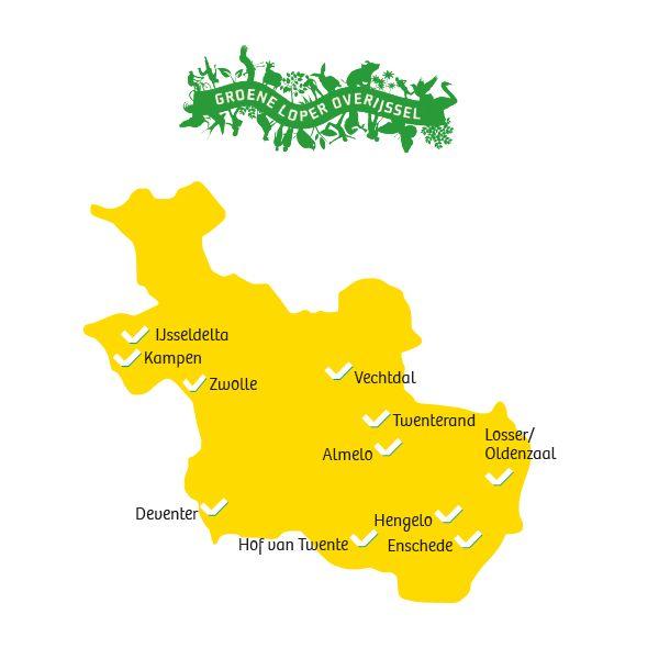 Groene Lopers in Overijssel