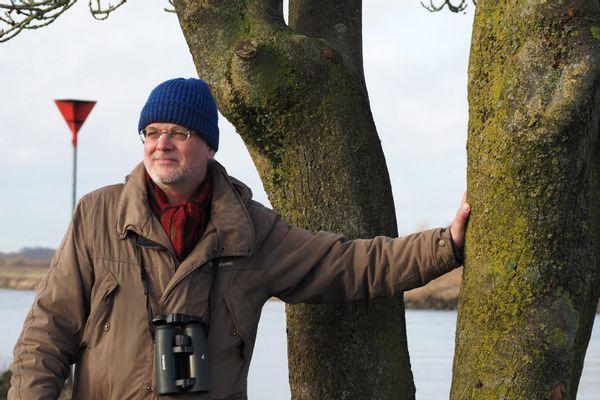 Evert Ruiter, motor achter het boek Libellen in Overijssel
